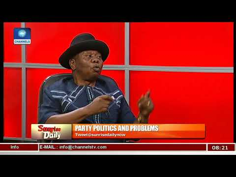 More Credible People Joining APC -  Solomon Edojah Pt 1 | Sunrise Daily |