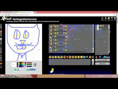 Awesome Xat Chat Box (fantagestarmoons)