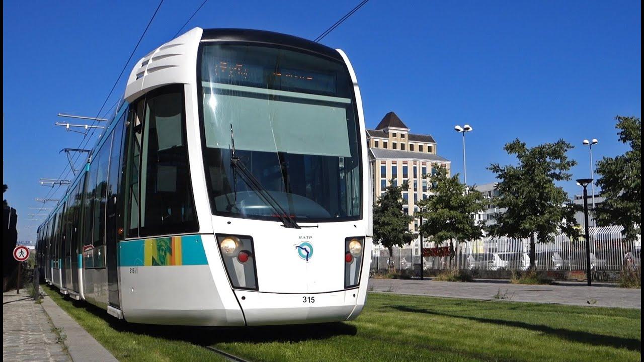 tramway de paris ligne t3b la chapelle pantin youtube. Black Bedroom Furniture Sets. Home Design Ideas