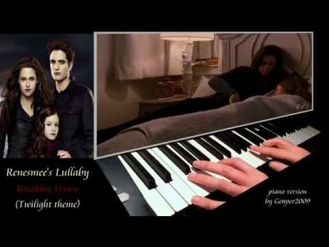 RENESMEE'S LULLABY (Breaking Dawn - Twilight) [piano version by