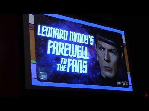 Leonard Nimoy's Farewell to Fans