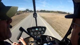 Robinson R22 Autorotation with Instruction