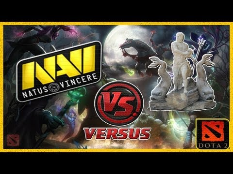 видео: navi vs p5n(Посейдоны) #1  weplay.tv dota 2 (rus)