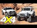 AEV Jeep Wrangler JK350 and RAM Prospector XL Road test 4X4 Australia
