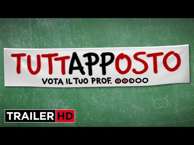 TUTTAPPOSTO - Trailer Ufficiale