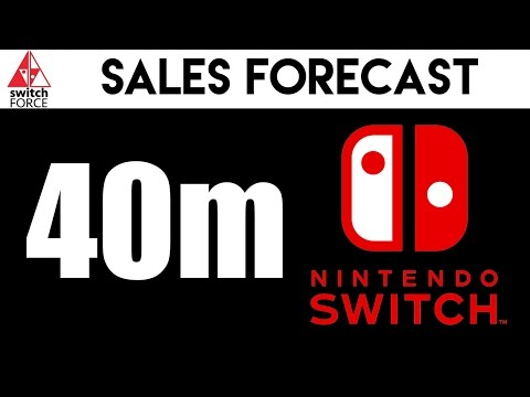 Nintendo Switch To Sell 40 Million Units Through 2020 - New Analyst Report
