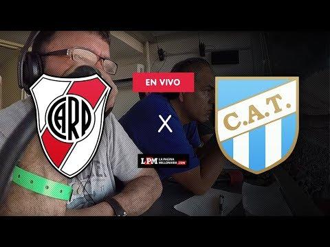 "River Plate vs Atlético Tucumán VIVO - Relata Atilio ""Lito"" Costa Febre - Superliga Argentina"