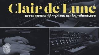 Car Boys // Clair de Lune - Claude Debussy [Arrangement for Piano and Synthesizers]
