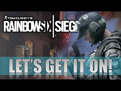 NEW SPONSOR BUTTON!  I  INTERACTIVE STREAM!  I  RAINBOW SIX SIEGE