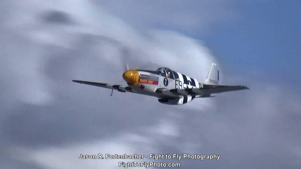 P 51B 51D Mustang Flight