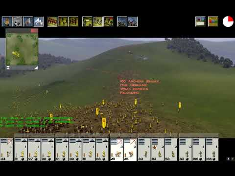 Medieval  Total War Finishing Germany |