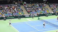 Davis Cup 2017  Deutschland- Belgien ,Samstag 04.02.2017