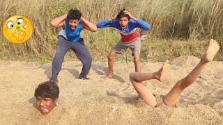 TRY TO NOT LAUGH CHALLENGE Must watch new funny video 2020_by fun sins।village boy comedy video।ep43