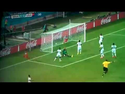 USA vs. Ghana 1st Gol (2014 FIFA World Cup)