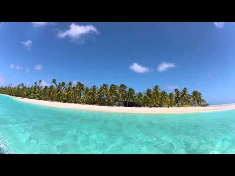 one-foot island arrival, Cook Islands