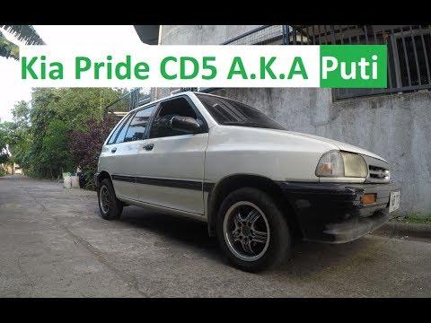 Kia Pride CD5 A K A Puti Update