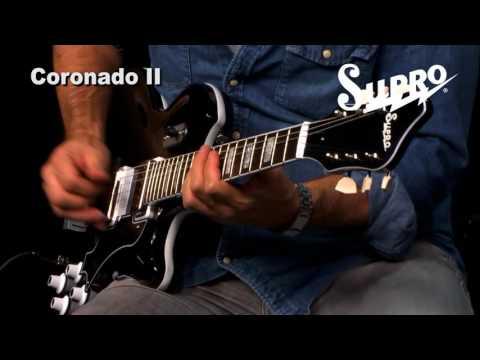 Supro Coronado II Guitar Official Demo by Ford Thurston