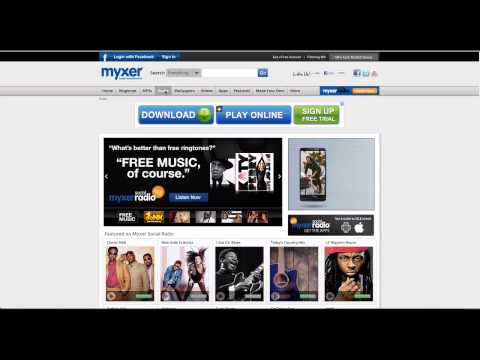 Learn how to use www.myxer.com website in simple steps.
