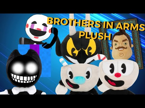 Cuphead Brothers In Arms Plush DAGames