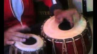 Tabla Played by me (Rela-trital).mp4