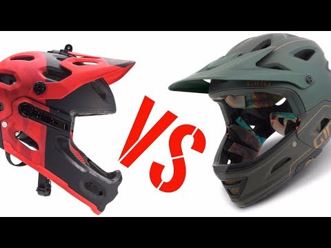 Best enduro mtb helmet? Bell Super 3R vs Giro Switchblade