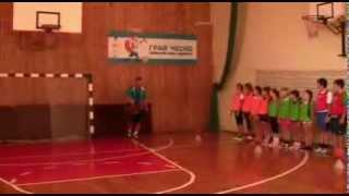 В.О.Твардовський. Урок баскетболу в 4 класі