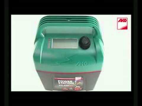 Fabelhaft Trockenbatteriegerät AKO Powerstation BD 400 - Weidezaungerät @XI_92