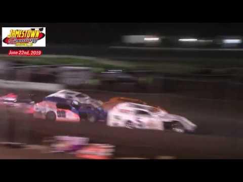 Jamestown Speedway IMCA Modified A-Main (6/22/19)