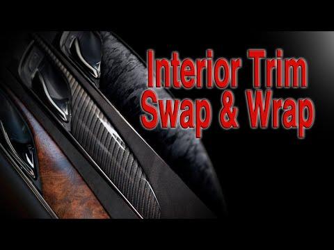 Interior Trim Removal And Wrap | Cadillac CTS ATS XTS