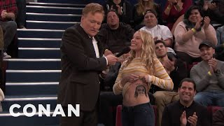 "Conan Plays ""3 About Me"" With The Studio Audience  - CONAN on TBS"