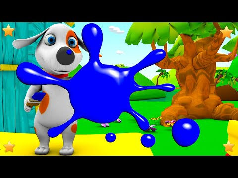 Colors Song | Kids Nursery Rhymes Song | 3D Kindergarten Baby Songs by Little Treehouse