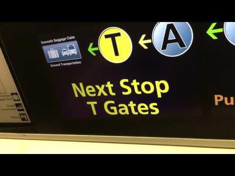 Hartsfield-Jackson Atlanta International Airport Tram