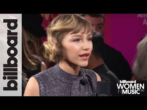 Grace VanderWaal Talks Special Bond With Millie Bobby Brown | Billboard Women in Music 2017