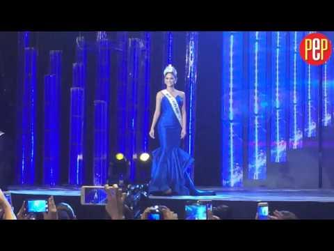 Pia Wurtzbach's Miss Universe walk