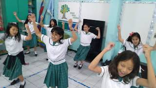 Nutrition month  jingle ( dancestep) 2019 Tuned of: Kiss me Kiss me