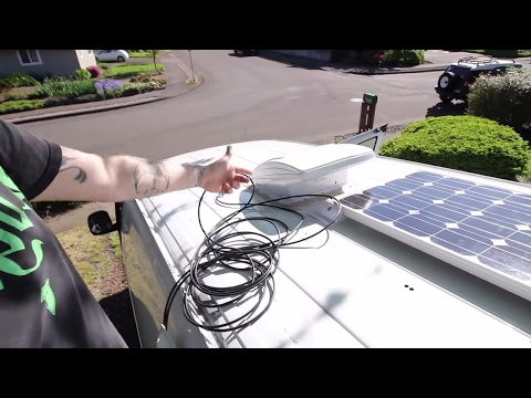 Our Solar Van Dwelling Setup Lithium Battery and Panel Install