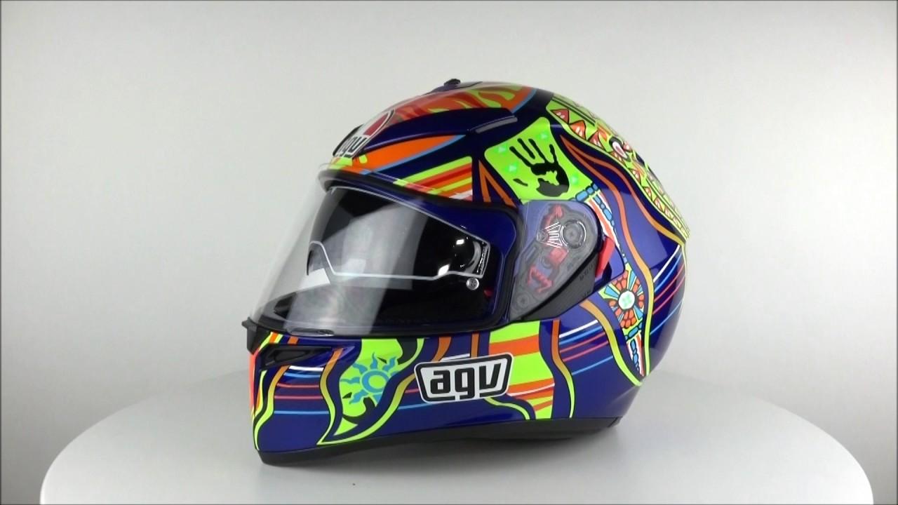 Agv K 3 Sv 5 Five Continents Helmet Championhelmets Com Youtube