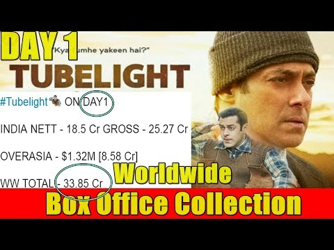Tubelight Film Worldwide Box Office Collection Day 1 I Eid 2017