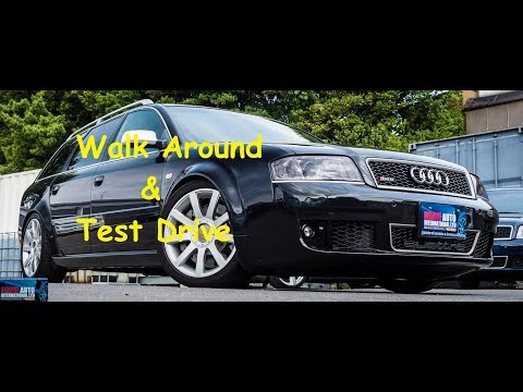 2003 Audi RS6 Avant | Japan Car Auction Purchase