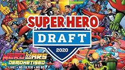 Superhero Draft 2020 - Ultimate Marvel / DC Team - Nerd Wars LIVE!
