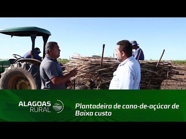 Produtor desenvolve uma plantadeira de cana-de-açúcar de baixa custo
