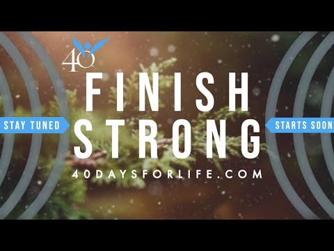 Finish Strong Webcast