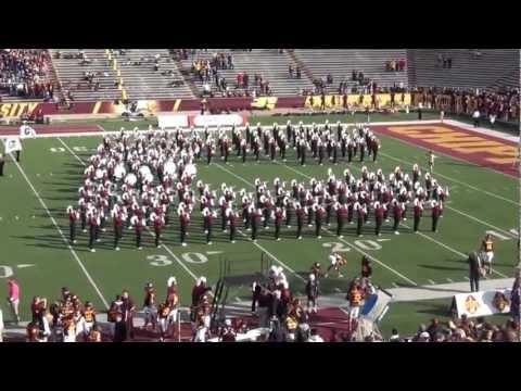 CMU Marching Band Playing...