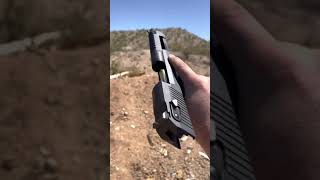 Desert Eagle 50cal Destroying my Steel! #shorts