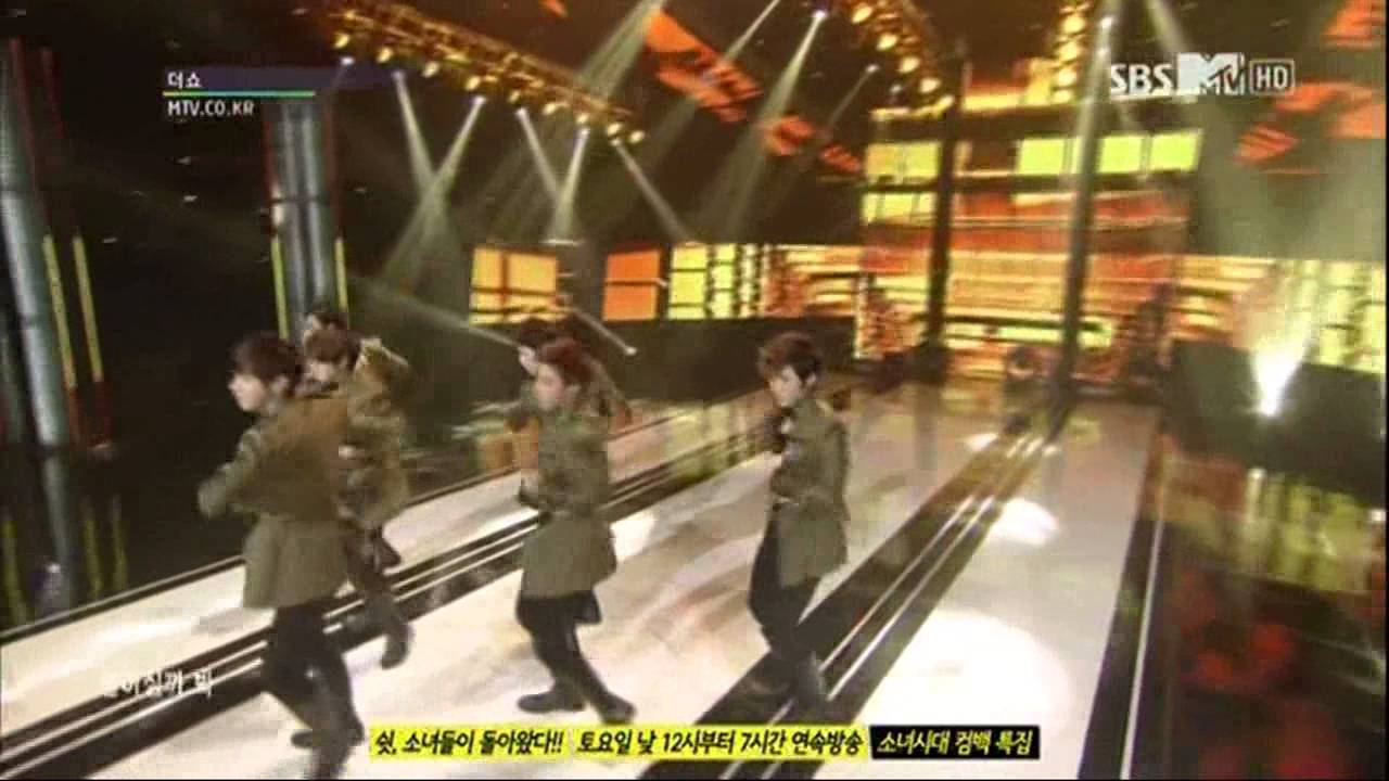 Download 130111 C-CLOWN - Far Away Young Love on SBSMTV The Show