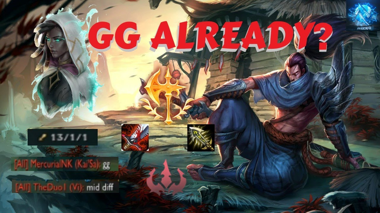 League Of Legends Gg