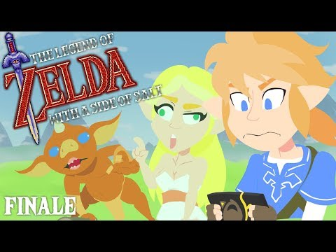 The Legend of Zelda with a side of salt (Breath of the Wild) FINALE