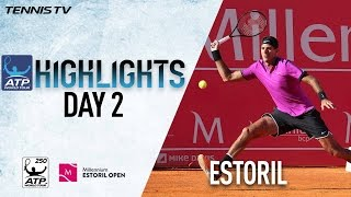 Del Potro Almagro Start Strong In Estoril 2017 Highlights