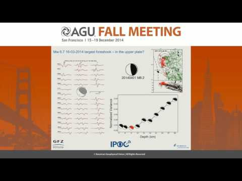 Gradual unlocking of a plate boundary controlled the April 2014 M8.1 Iquique, Northern Chile...