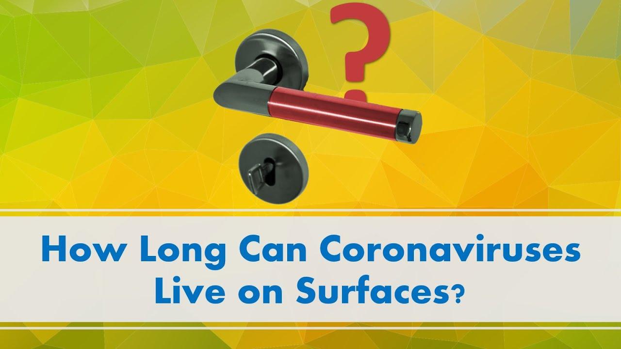 How Long Can Coronaviruses Live on Surfaces? :: News :: ChemistryViews